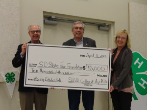 State Fair Foundation donation