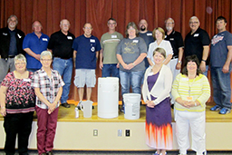 Local blood donors were celebrated as super heroes, on Tuesday, June 23 at Huron Regional Medical Center's annual donor recognition luncheon.