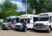 River City Transit Peoples Transit Huron SD